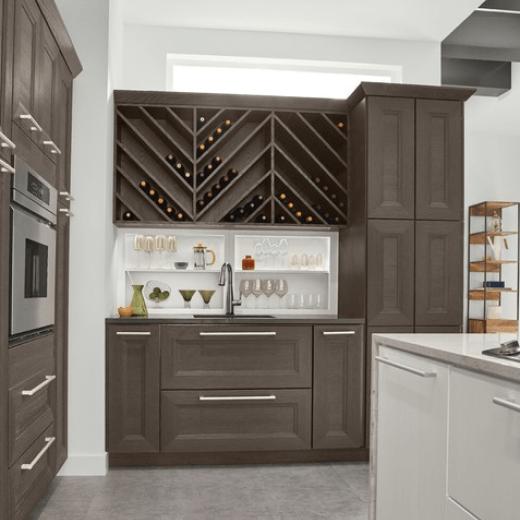 Kraftmaid Cabinets Crw Home Centers, Kraftmaid Appliance Garage Dimensions